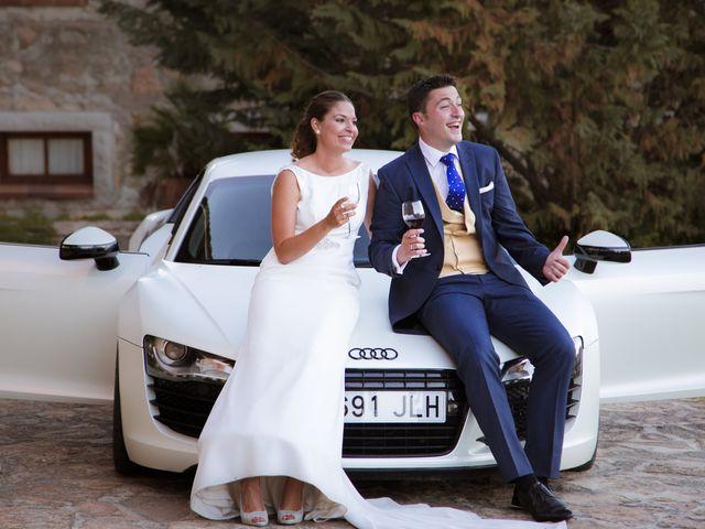 La boda de Carlos y Sandra en Mangiron, Madrid 31