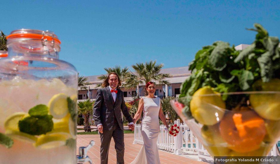La boda de Miguel y Eva en Mojacar, Almería