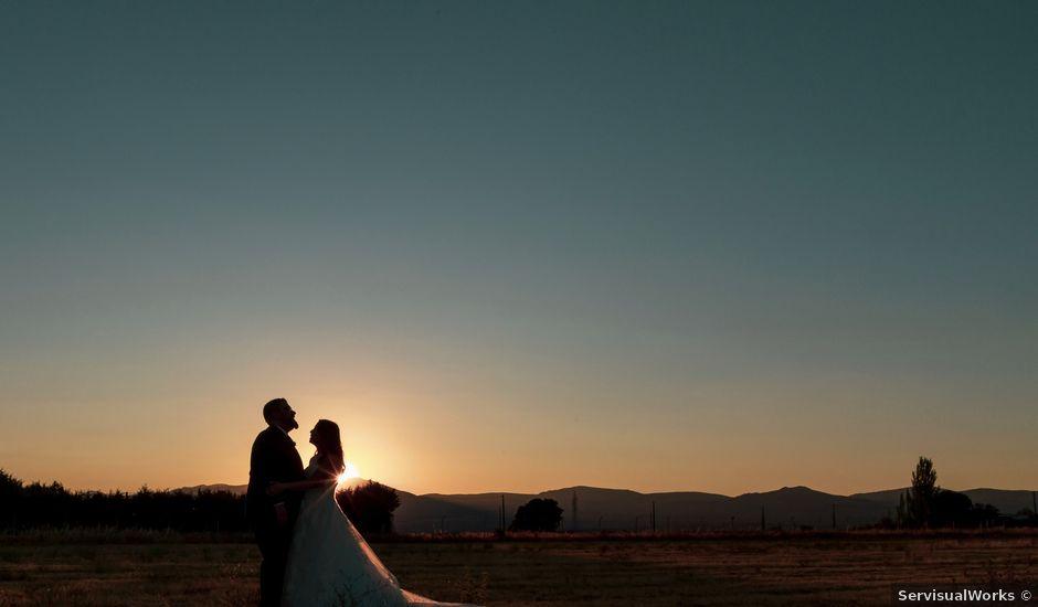 La boda de Javier y Marta en El Vellon, Madrid