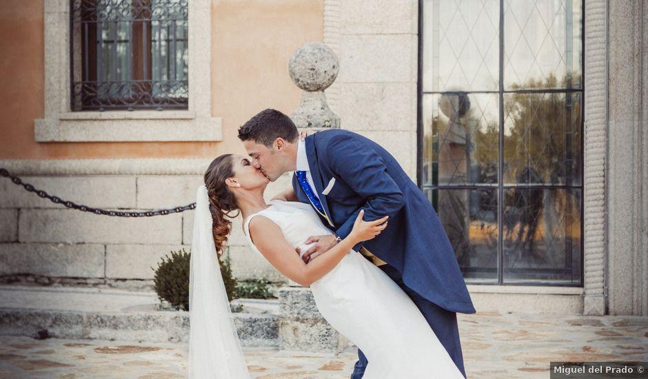 La boda de Carlos y Sandra en Mangiron, Madrid