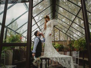 La boda de Lydia y Bastian