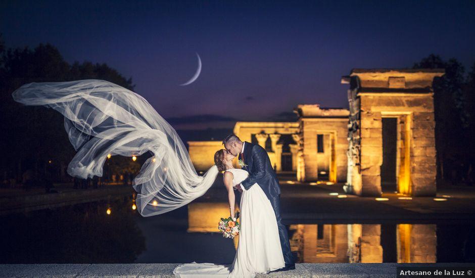 La boda de Rubén y Sandra en Madrid, Madrid