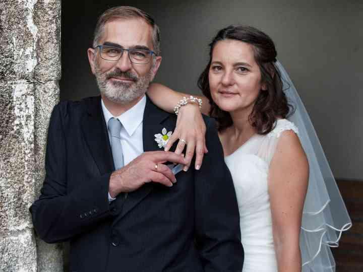 La boda de Isabel y James