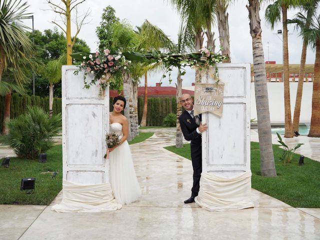 La boda de Vicente y Mabel en Algemesí, Valencia 1