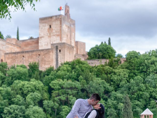 La boda de Jose y Bea en Granada, Granada 29