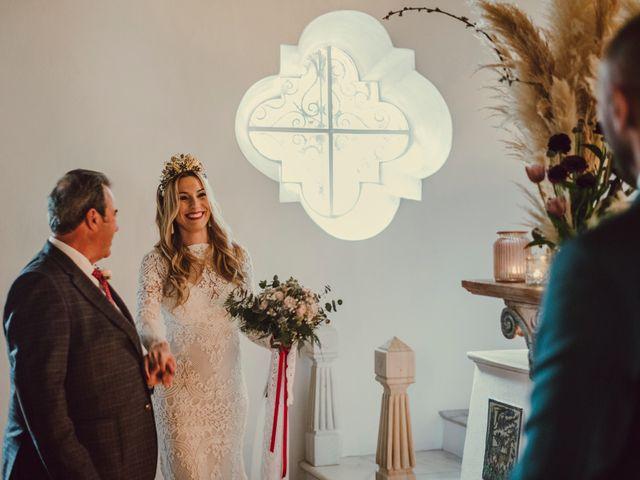 La boda de Eque y Auxi en Estepona, Málaga 45