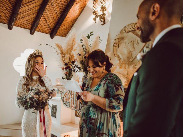 La boda de Eque y Auxi en Estepona, Málaga 61