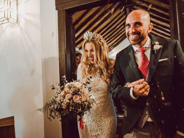 La boda de Eque y Auxi en Estepona, Málaga 79