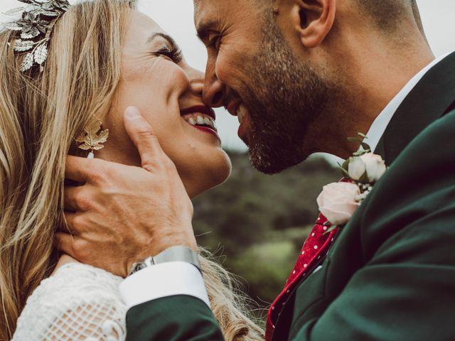 La boda de Auxi y Eque