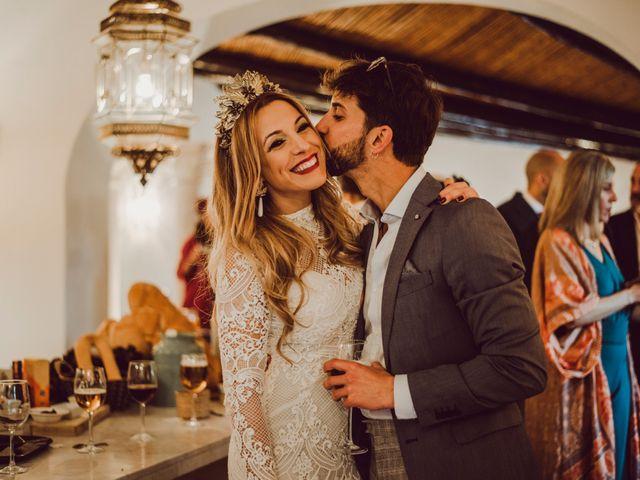 La boda de Eque y Auxi en Estepona, Málaga 111