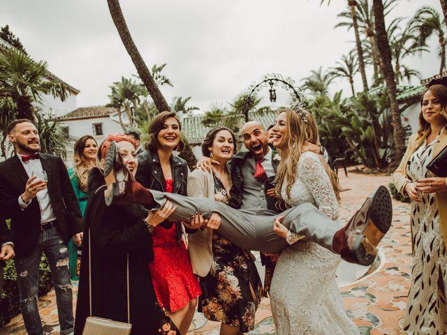 La boda de Eque y Auxi en Estepona, Málaga 117