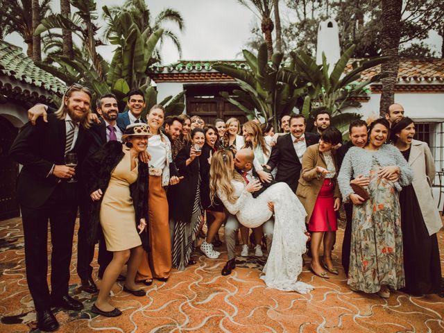 La boda de Eque y Auxi en Estepona, Málaga 121