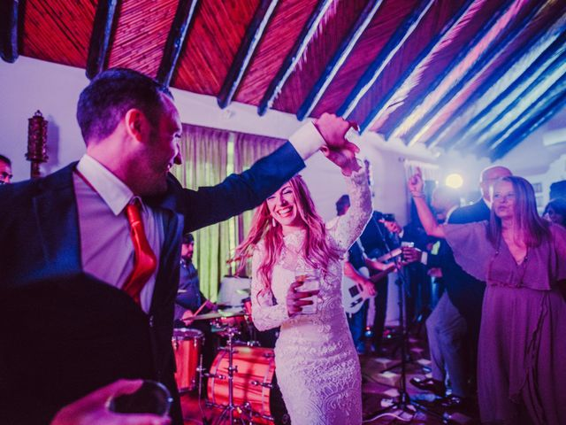 La boda de Eque y Auxi en Estepona, Málaga 131