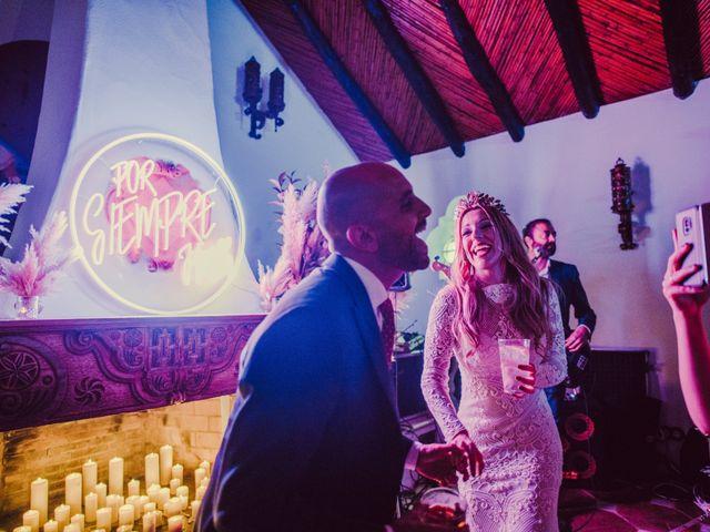 La boda de Eque y Auxi en Estepona, Málaga 132