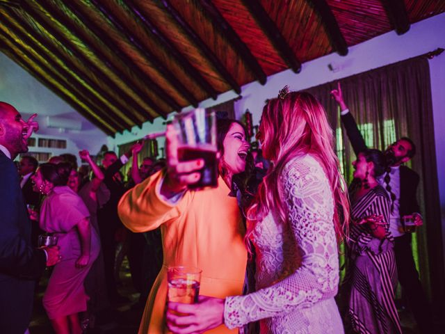 La boda de Eque y Auxi en Estepona, Málaga 133