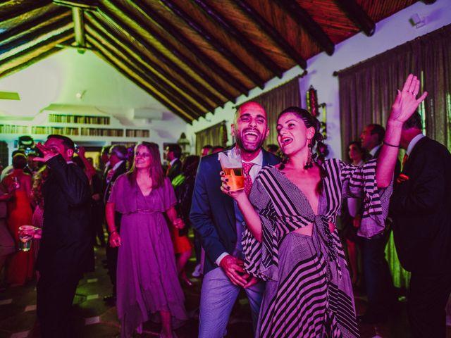 La boda de Eque y Auxi en Estepona, Málaga 134