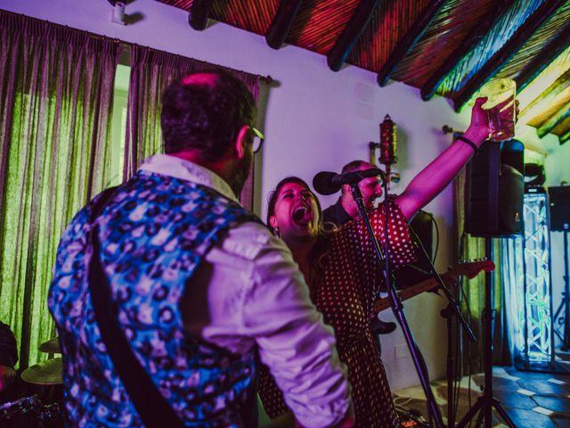 La boda de Eque y Auxi en Estepona, Málaga 136