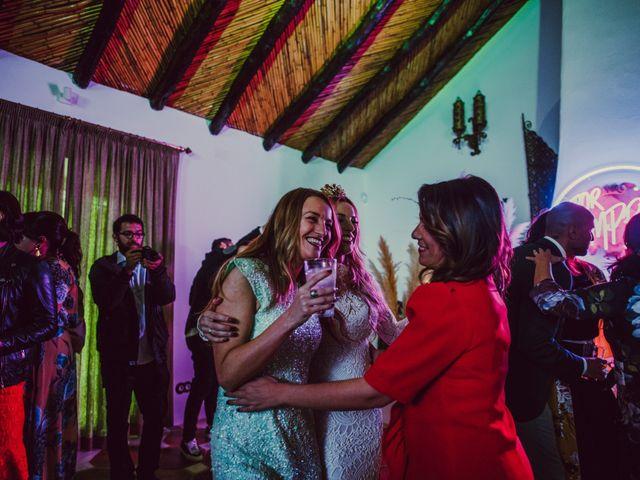 La boda de Eque y Auxi en Estepona, Málaga 137