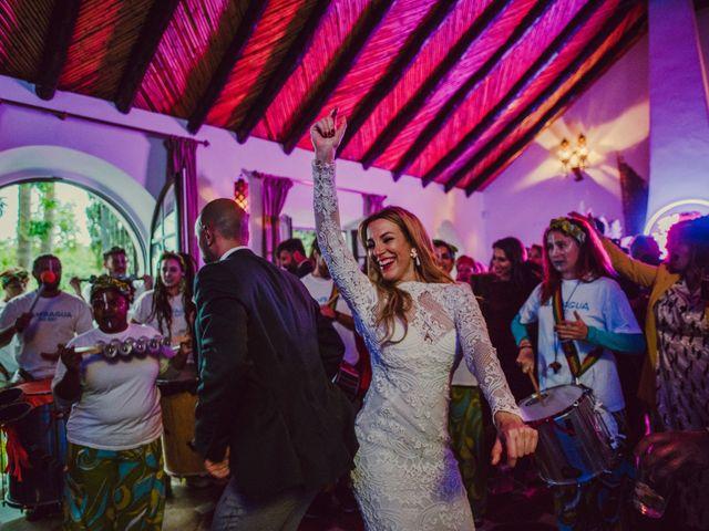 La boda de Eque y Auxi en Estepona, Málaga 145