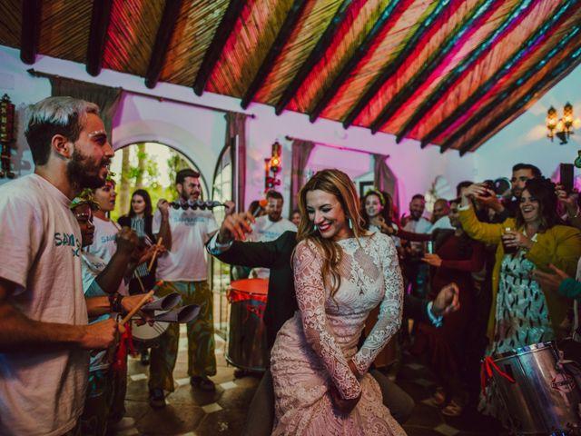 La boda de Eque y Auxi en Estepona, Málaga 146