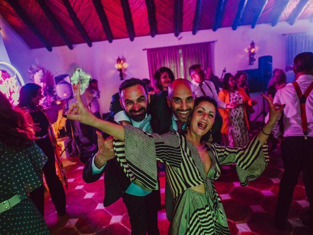 La boda de Eque y Auxi en Estepona, Málaga 151
