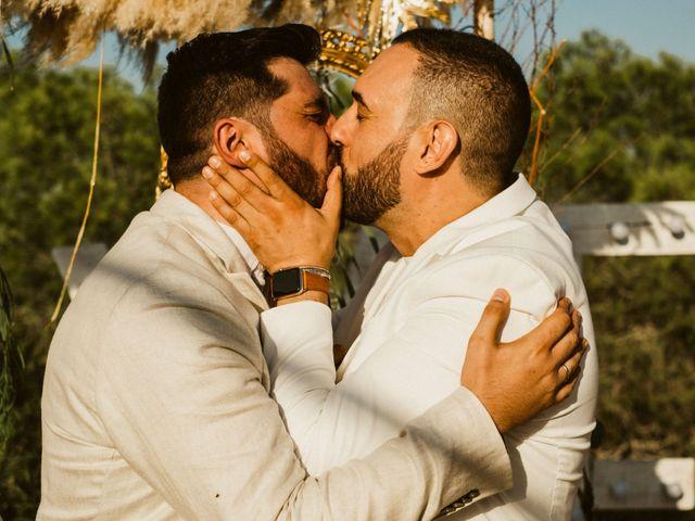 La boda de Ivan y Luis en La Mata, Alicante 80
