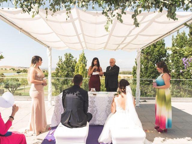 La boda de Jonathan y Noemi en Alalpardo, Madrid 2