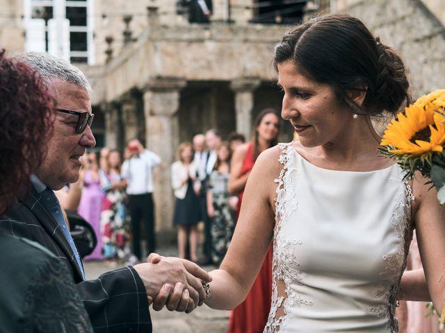 La boda de Abraham y Bea en Vilaboa (Rutis), A Coruña 17