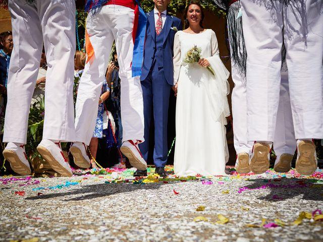 La boda de David y Isabel en Zarraton, La Rioja 17