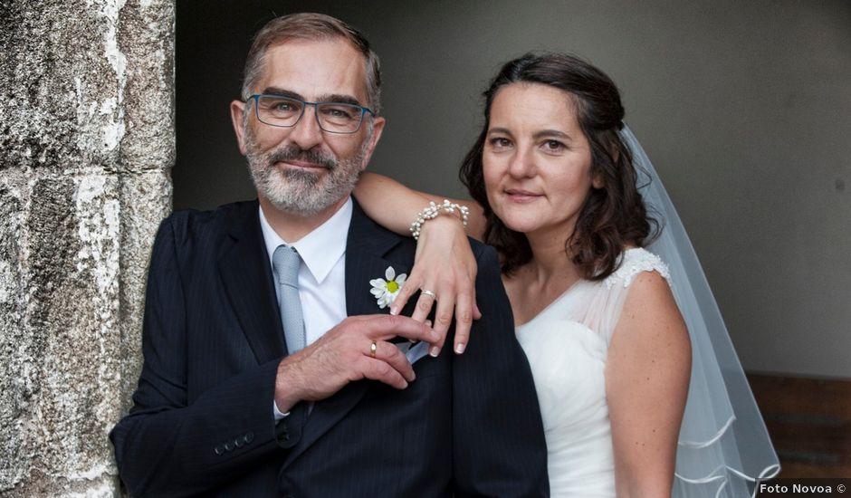 La boda de James y Isabel en Santiago De Compostela, A Coruña