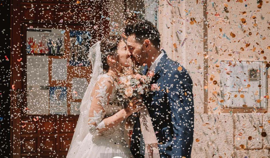 La boda de Norman y Sara en La Romana, Alicante