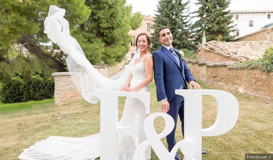 La boda de Félix y Patricia en Dicastillo, Navarra