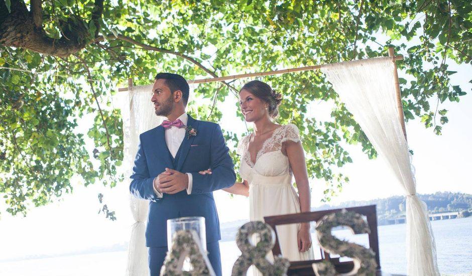 La boda de Ángel  y Sonia  en A Merced (Neda), A Coruña