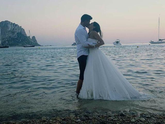 La boda de David  y Mélissa  en Eivissa, Islas Baleares 1