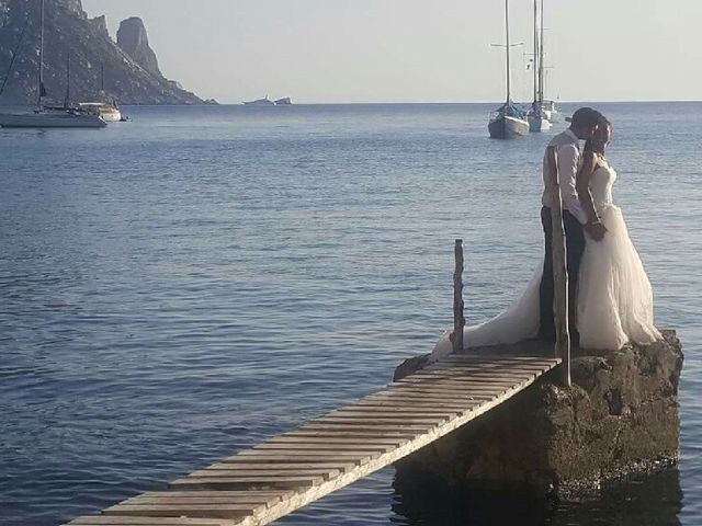 La boda de David  y Mélissa  en Eivissa, Islas Baleares 2