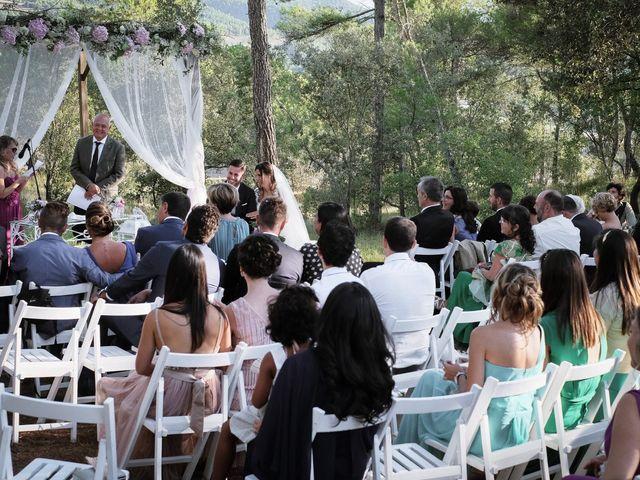 La boda de Esther y Luca en Girona, Girona 9
