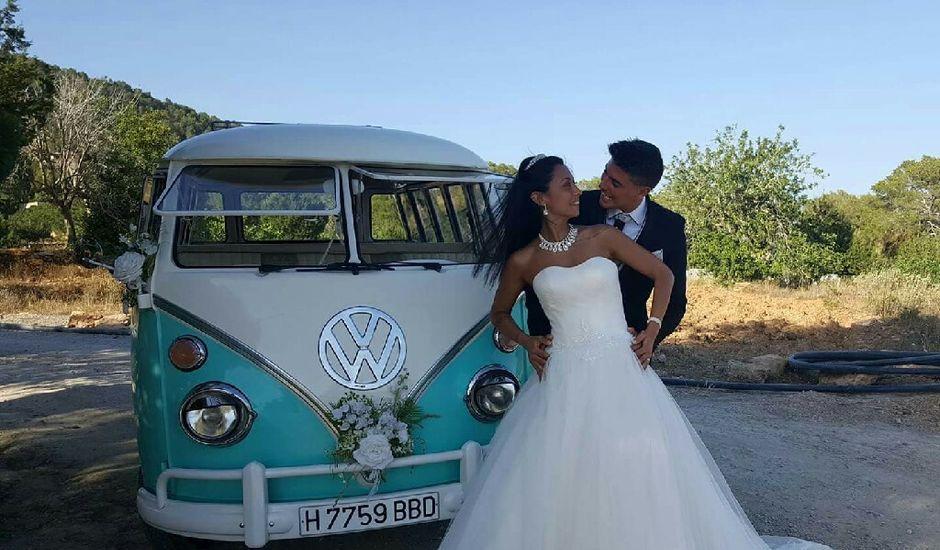 La boda de David  y Mélissa  en Eivissa, Islas Baleares