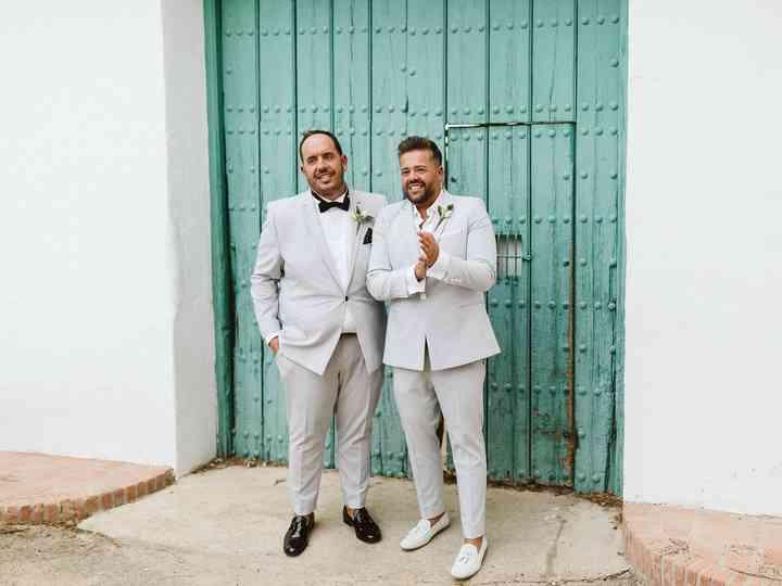 La boda de Manuel y Sergio