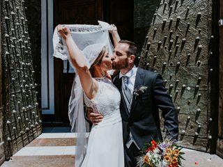 La boda de Belén y Quique