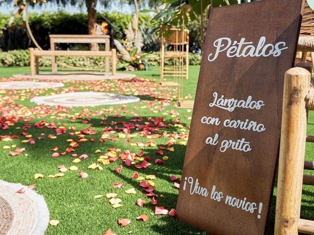 La boda de Ana Raquel  y Carlos Alberto en La Orotava, Santa Cruz de Tenerife 19