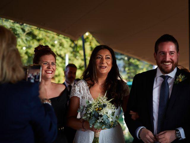 La boda de David y María en Ezcaray, La Rioja 15