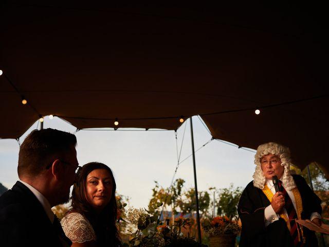 La boda de David y María en Ezcaray, La Rioja 19