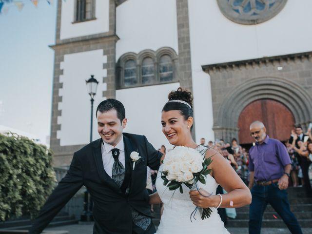 La boda de Jonay y Casandra en Moya, Las Palmas 12