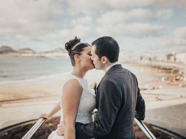 La boda de Jonay y Casandra en Moya, Las Palmas 13