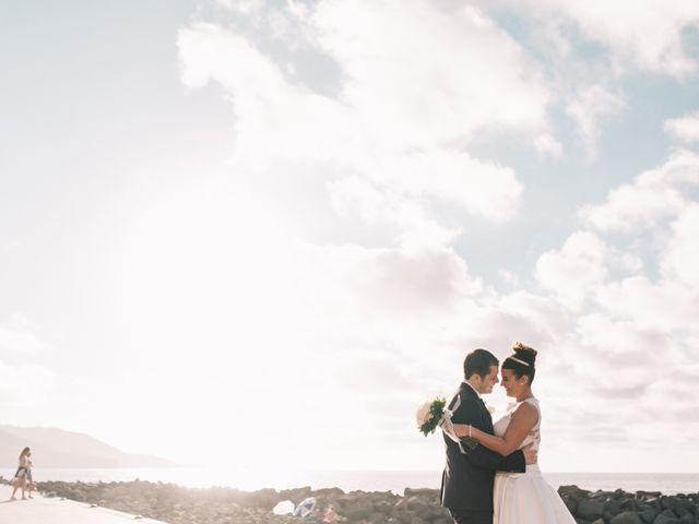 La boda de Jonay y Casandra en Moya, Las Palmas 17