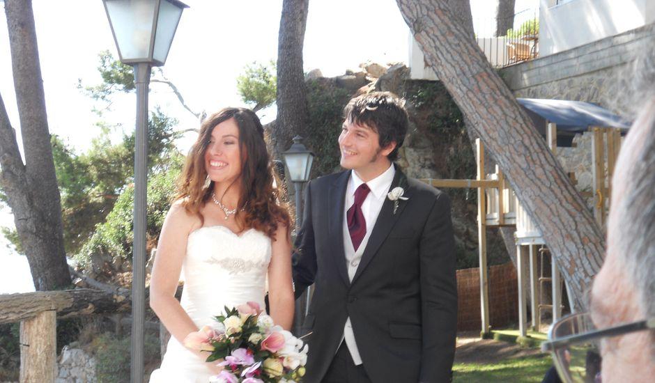 La boda de Jutta y Arnau en Platja D'aro, Girona