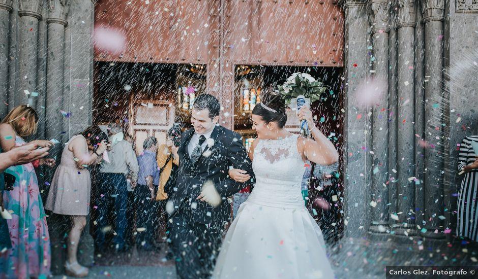 La boda de Jonay y Casandra en Moya, Las Palmas