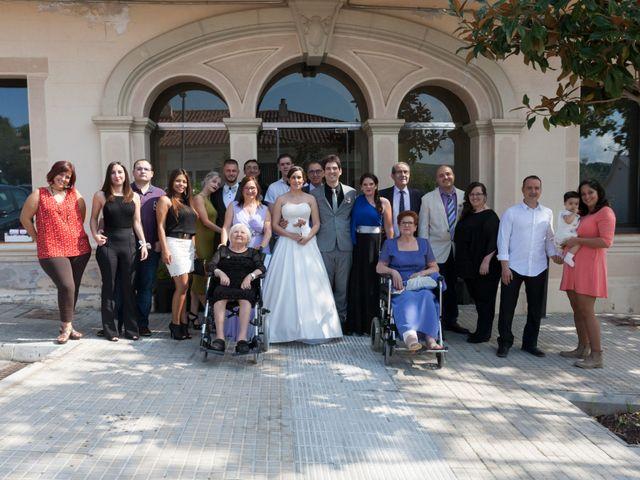 La boda de Rubén y Andrea en Corbera De Llobregat, Barcelona 32