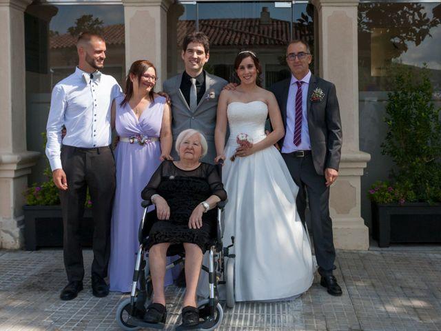 La boda de Rubén y Andrea en Corbera De Llobregat, Barcelona 33