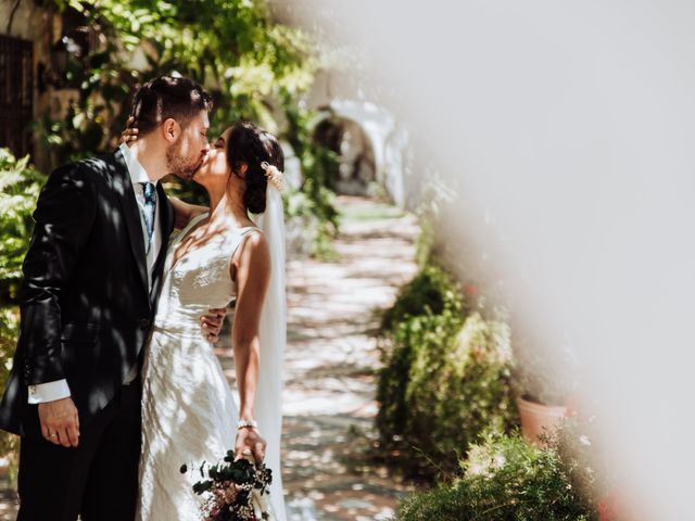 La boda de Alejandro y Elena en Espartinas, Sevilla 1